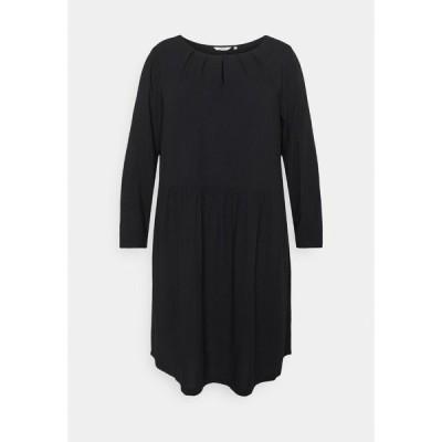 マイ トルー ミー トム テイラー ワンピース レディース トップス DRESS BLOUSE STYLE - Day dress - deep black