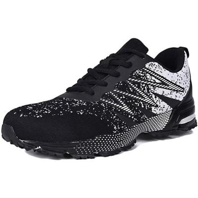 [JACKS HIBO] ランニングシューズ スニーカー メンズ 運動靴 軽量 通気 靴 メンズ ウォーキングシューズ カジュアル スポーツシューズ
