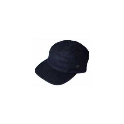 ニューヨークハット 帽子 キャップ New York Hat 9383 WOOL CAMP CAP ウール キャンプ Black Charcoal