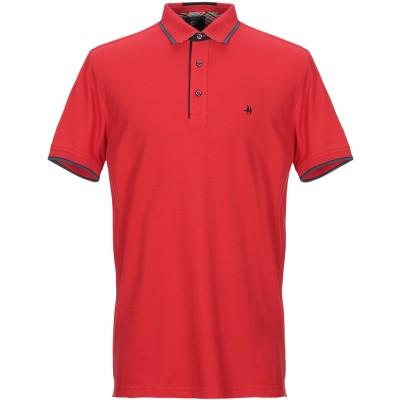 IMPULSO ポロシャツ レッド XS コットン 95% / ポリウレタン 5% ポロシャツ