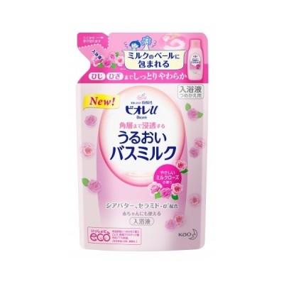 ビオレU バスミルク ミルクローズの香りつめかえ 480ml【当日つく愛媛】