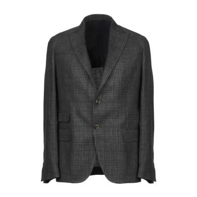 イレブンティ ELEVENTY テーラードジャケット スチールグレー 52 麻 49% / ウール 32% / シルク 19% テーラードジャケット