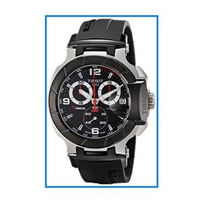 (輸入品)Tissot Men's T0484172705700 T-Race Black Chronograph Dial Watch