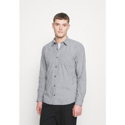 メンズ ファッション LANGARM - Shirt - petrol
