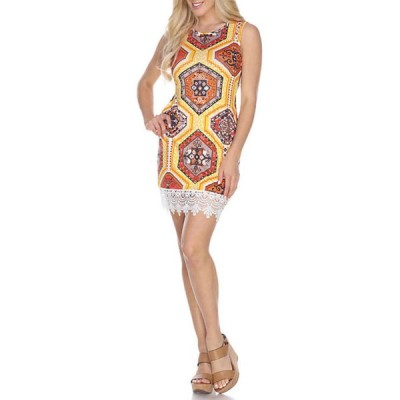 ホワイトマーク レディース ワンピース トップス Thea Dress