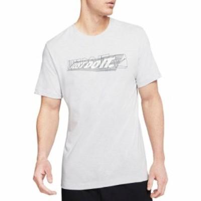 ナイキ Nike メンズ ラクロス Tシャツ トップス JDI Shadow Training T-Shirt White/Pewter Grey