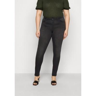 オンリー カルマコマ デニムパンツ レディース ボトムス CARCARMA LIFE - Jeans Skinny Fit - black