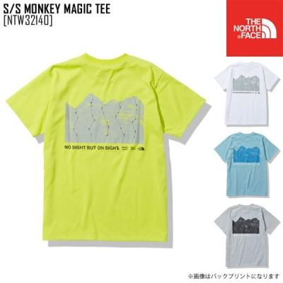 2021 春夏 新作 ノースフェイス THE NORTH FACE ショートスリーブ モンキー マジック ティー S/S MONKEY MAGIC TEE Tシャツ トップス NTW32140 レディース