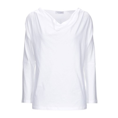 グラン サッソ GRAN SASSO T シャツ ホワイト 42 コットン 100% T シャツ