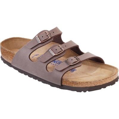 ビルケンシュトック サンダル レディース シューズ Florida Soft Footbed Sandal - Women's Mocha Birkibuc