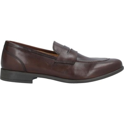 ハーマン & サンズ HERMAN & SONS メンズ ローファー シューズ・靴 loafers Dark brown