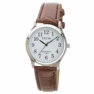 腕時計 時計 ウォッチ メンズ TELVA アナログウォッチ アナログ時計 とけい 人気 ブランド シンプル カジュアル ビジネスカジュアル お洒