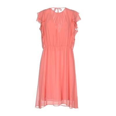 BIANCOGHIACCIO ミニワンピース&ドレス ピンク XL ポリエステル 100% ミニワンピース&ドレス