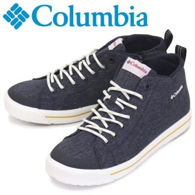 Columbia (コロンビア) YU0316 ホーソンレイン2 ウォータープルーフ 防水スニーカー 464 Collegiate Navy CLB025