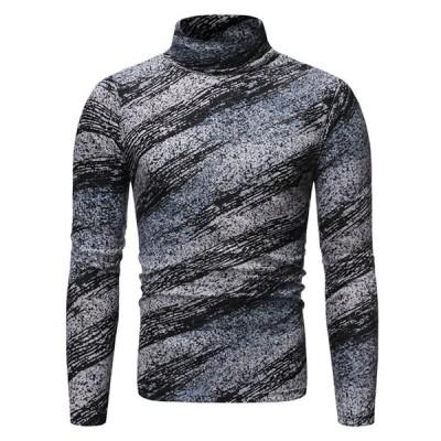 Tシャツ メンズ カットソー  Tシャツ メンズ 長袖 ベーシック トップス 秋冬 Tシャツ メンズファッション