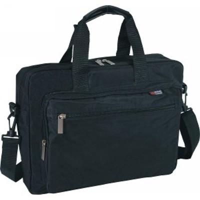 パソコン対応 ソフトビジネスバッグ  ブラック  H-2096