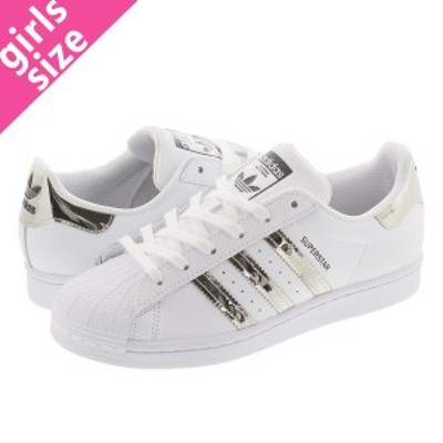 adidas SUPERSTAR W アディダス スーパースター ウィメンズ FTWR WHITE/SILVER METALLIC/CORE BLACK fw3915