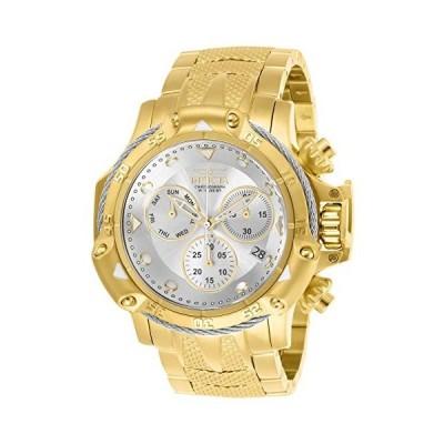 インビクタ Invicta Men's Subaqua Quartz Watch with Stainless Steel Strap, Gold, 26 (Model: 26725) 並行輸入品