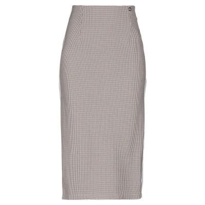 MANGANO 7分丈スカート サンド L コットン 92% / ポリウレタン 8% 7分丈スカート