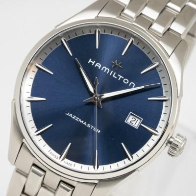 質イコー [ハミルトン] HAMILTON 腕時計 ジャズマスター H32451141 クオーツ メンズ 中古 極美品