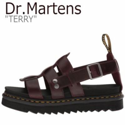 ドクターマーチン サンダル Dr.Martens レディース TERRY テリー BROWN ブラウン DMT23521211 23521211 シューズ