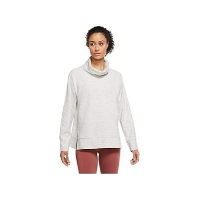 ナイキ Plus Size Therma Fleece HPNLT Pullover Cowl レディース パーカー スウェット フード Grey Heather/Platinum Tint