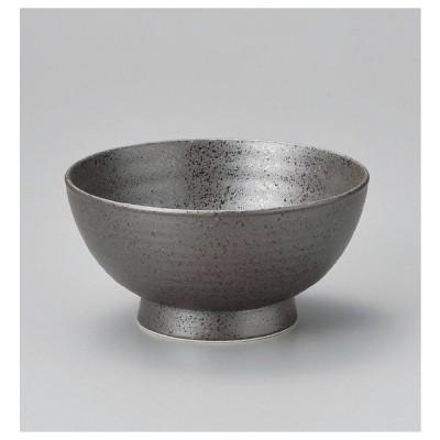 和食器 丼 黒南蛮(六べ)5.5高台丼 どんぶり 食器 陶器 ボウル