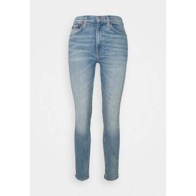 ラルフローレン デニムパンツ レディース ボトムス Jeans Skinny Fit - light indigo
