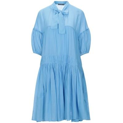 デパートメント 5 DEPARTMENT 5 ミニワンピース&ドレス アジュールブルー M コットン 100% ミニワンピース&ドレス
