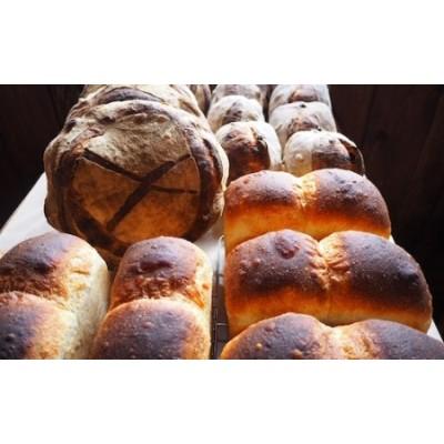 薪窯焼き自家製酵母パン4種と自家製ジャムセット