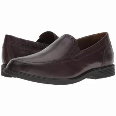 ハッシュパピー スリッポン・フラット Shepsky Slip-On Dark Brown Leather
