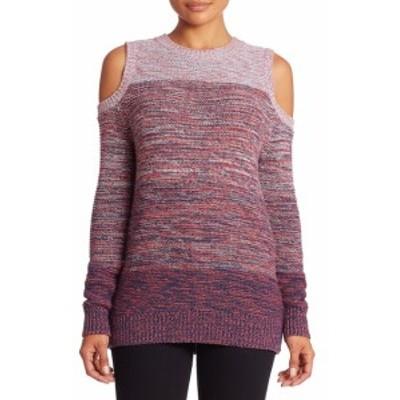 レベッカミンコフ レディース トップス ニット  Page Wool Blend Cold Shoulder Sweater