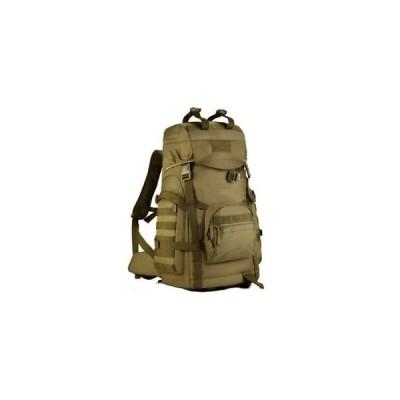 キャンプ PLAYDO 55L Tactical Military Molle Assault Backpack Pack Waterproof Ba