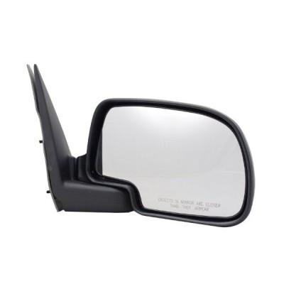 Pilot CV9309410-3R00 Chevrolet Silverado Chrome Manual Replacement Passenger Side Mirror