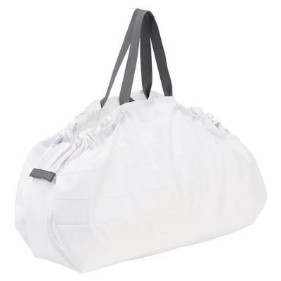 マーナ Shupatto コンパクトバッグ L ホワイト S419W エコバッグ ショッピングバッグ Marna