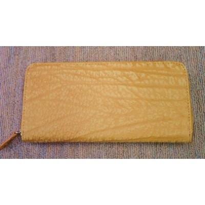 ●いけのや●新品●アンテロープ本革財布●カード収納8ヵ所あり●オレンジ