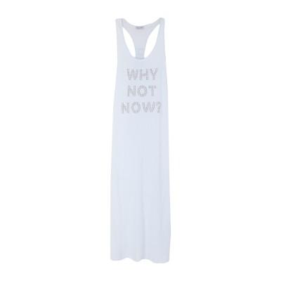 オディエアモ ODI ET AMO ロングワンピース&ドレス ホワイト XS コットン 100% ロングワンピース&ドレス