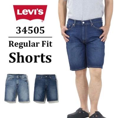 リーバイス メンズ 34505 ショート デニム パンツ Gパン レギュラー フィット ショーツ Levis 34505 Regular Fit Shorts 即納