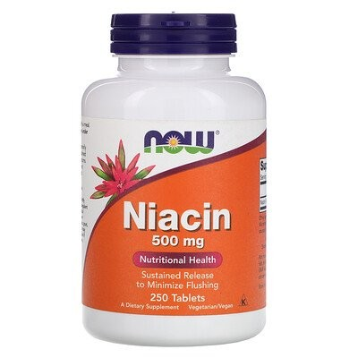 ナイアシン、500 mg、250錠