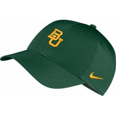ナイキ メンズ 帽子 アクセサリー Nike Men's Baylor Bears Green Legacy91 Adjustable Hat