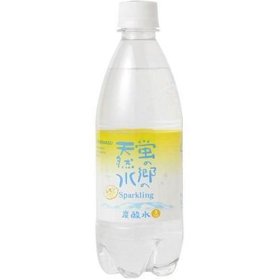 友桝飲料 蛍の郷の天然水スパークリング レモン 500ml 1箱(24本入)