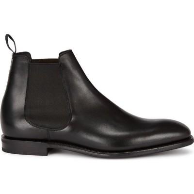 チャーチ Church's メンズ ブーツ チェルシーブーツ シューズ・靴 prenton black leather chelsea boots Black