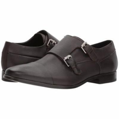 カルバンクライン 革靴・ビジネスシューズ Sloan Dress Dark Brown