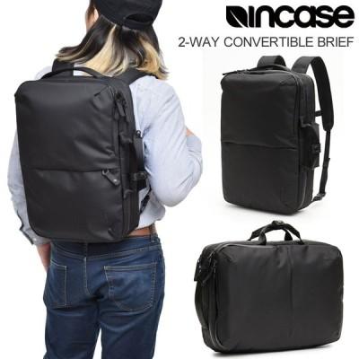 インケース Incase ブリーフケース リュック メンズ レディース 2-WAY コンバーチブルブリーフ ブラック 2WAY CONVERTIBLE BRIEF 137201053001 INBP100653