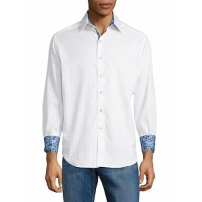 ロバートグラハム メンズ カジュアル ボタンダウンシャツ Rialto Cotton Button-Down Shirt