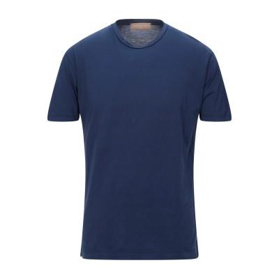 ダニエル フィエゾーリ DANIELE FIESOLI T シャツ ブルー L コットン 100% T シャツ