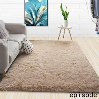 ラグマット 絨毯 シャギー敷物 丸洗い可能 防音 防カビ 耐磨耗性 ベッドルームラグ 超良い 大きい ふかふか 長方形 スーパーソフトラグ ベビールーム 応接室