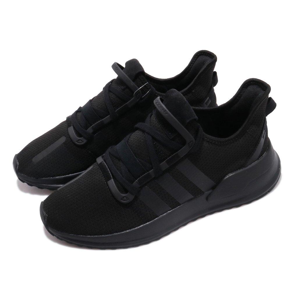 ADIDAS 慢跑鞋 U_Path Run 運動 休閒 男女鞋 愛迪達 輕量 透氣 舒適 情侶鞋 穿搭 黑 [G27636]
