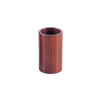 ヤマコー 木製 丸型はし立 15102 (ハイブラウン) PHS20