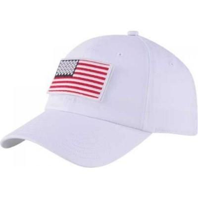 プーマ PUMA メンズ キャップ スナップバック 帽子 Volition Tactical Patch Snapback Golf Hat Bright White